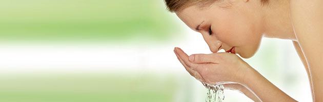 limpiar rostro para una piel sana