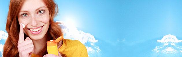bloqueador solar para proteger la piel