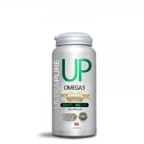 Omega UP UltraPure 60 cápsulas