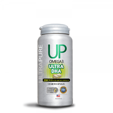 Omega UP Ultra DHA 120 microcápsulas