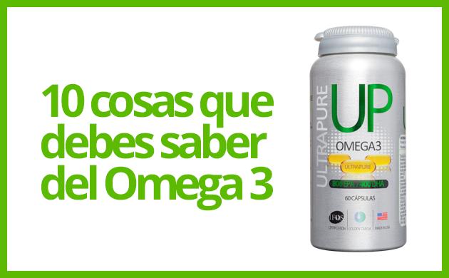 10 cosas que debes saber del Omega 3