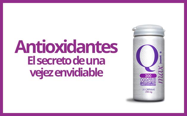 Antioxidantes: El secreto de una vejez envidiable