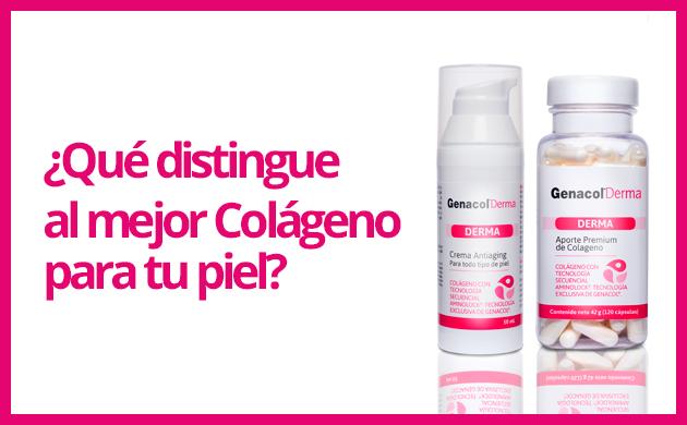 ¿Qué distingue al mejor Colágeno para tu piel?