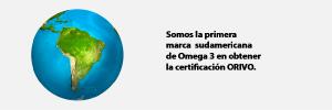 1ra marca sudamericana en obtener Certificación ORIVO