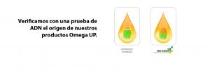 Verificamos con una prueba de ADN el origen de nuestros productos Omega UP
