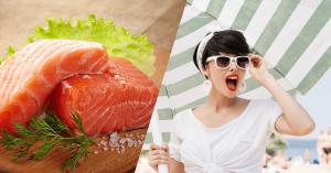 Alimentos que ayudan a la fotoprotección