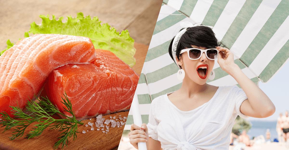 Los 3 alimentos que protegen a tu cuerpo de la radiación solar