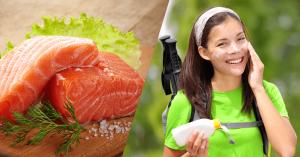 Alimentos que protegen de la radiación solar