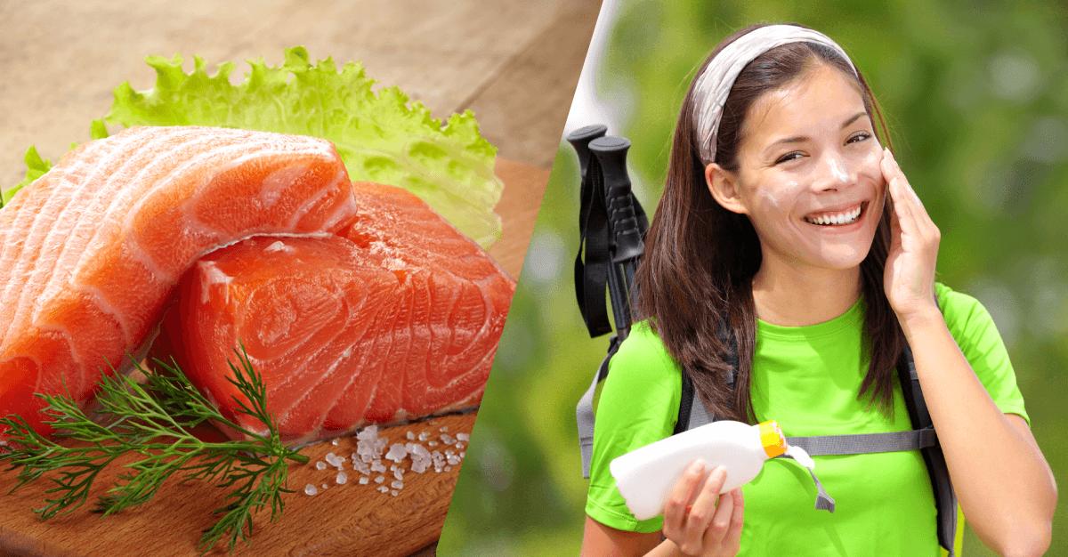 3 alimentos que protegen a tu cuerpo de la radiación solar