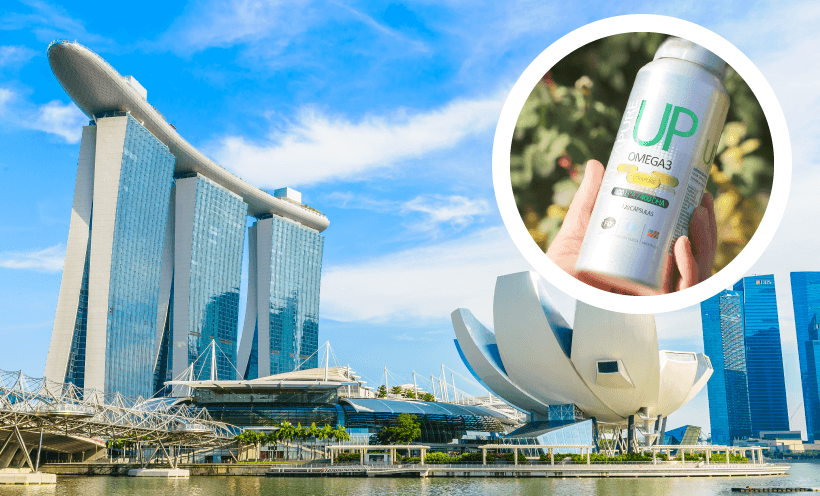 Omega UP en el Omega 3 World Summit en Singapur