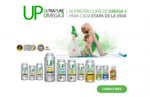 Omega UP UltraPute Nutrición Clave de Omega 3 para cada etapa de la vida