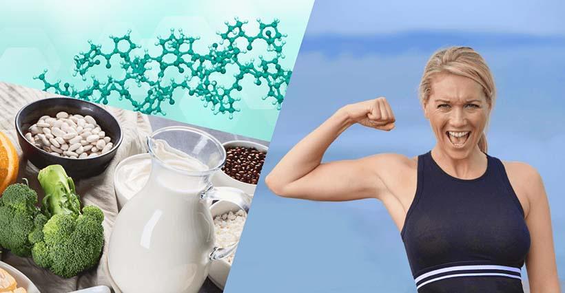 ¿Cuáles son los beneficios del colágeno y el calcio?