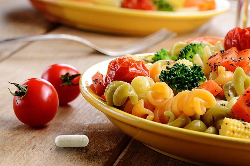 comida con probioticos