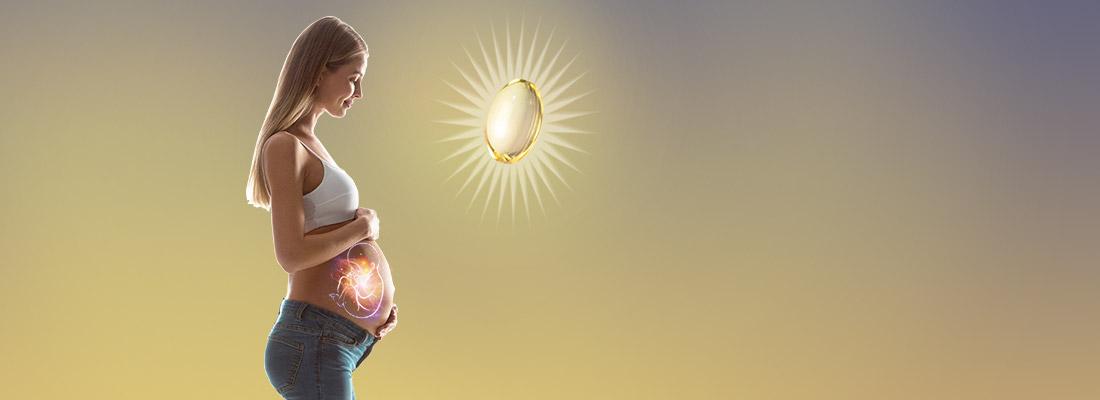 Beneficios del Omega 3 DHA en el embarazo y lactancia