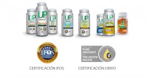 Línea Omega UP con Certificados IFOS y ORIVO