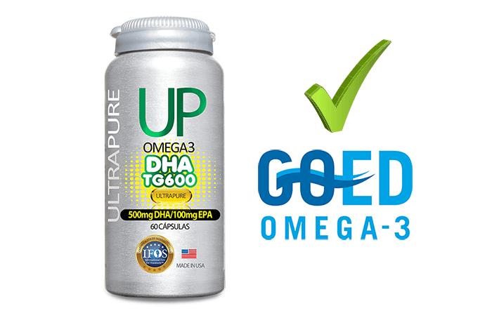 UP TG DHA 600 aprobado por GOED