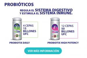 Probiotix Regula el Sistema Digestivo y Estimula el Sistema Inmune