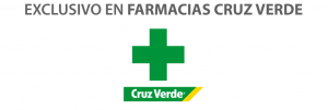 Exclusivo en Farmacias Cruz Verde