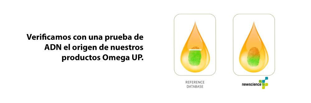 ORIVO - verificamos con una prueba de ADN el origen de nuestros productos Omega UP