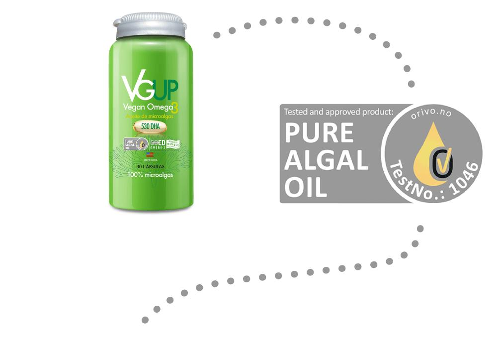Orivo - Vegan Pure Algal Oil