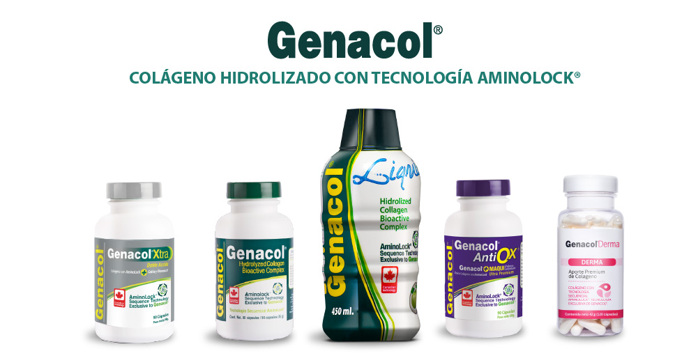 Genacol - Colágeno Hidrolizado con Tecnología AminoLock